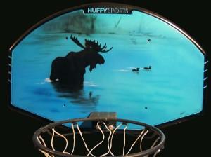 Moose backboard