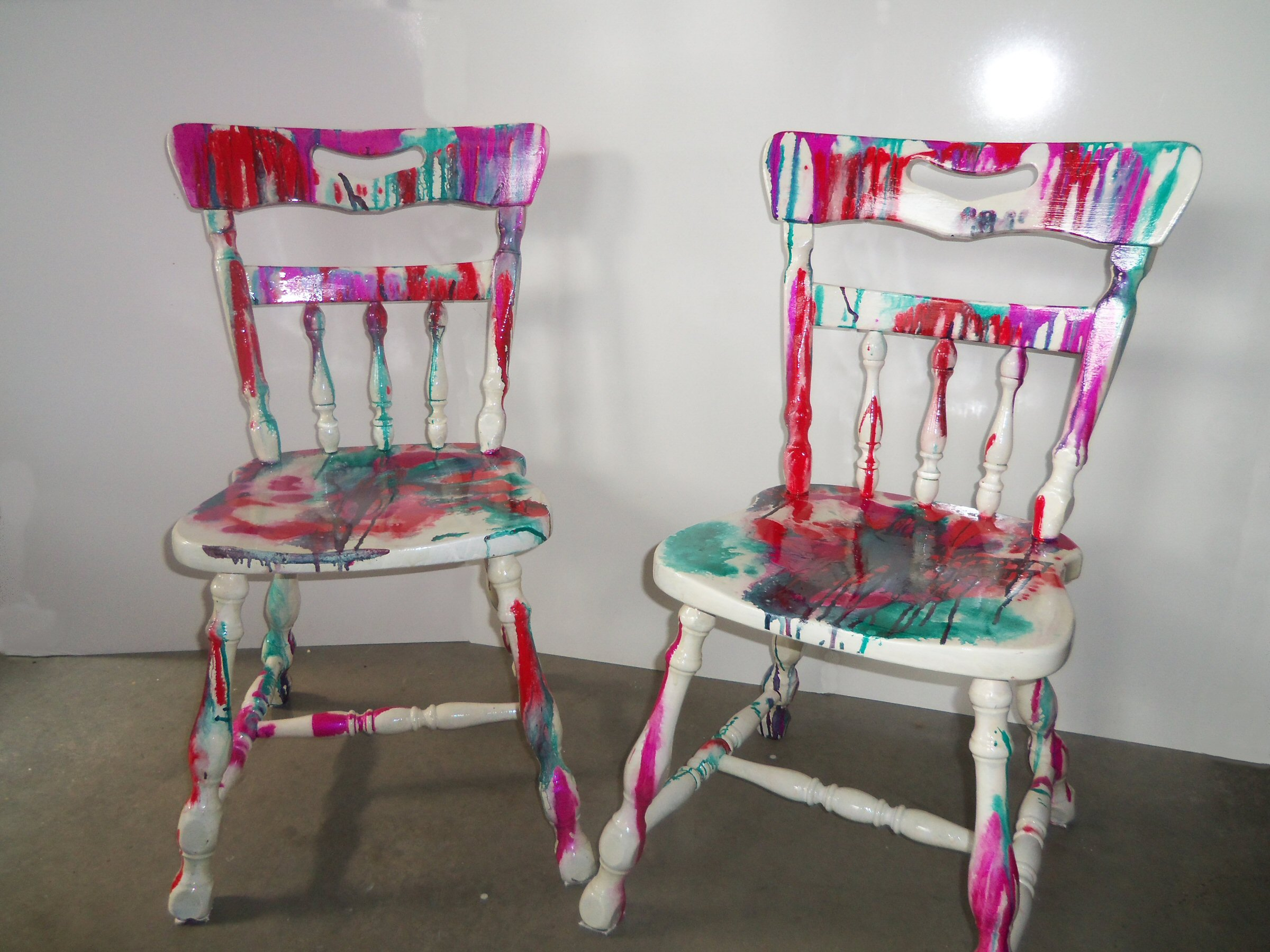 Ordinaire Painted Chair Series 1 Front
