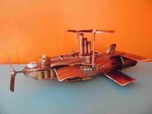 Steampunk Albatross airship