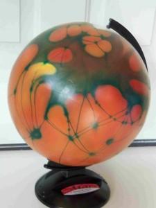 mars globe