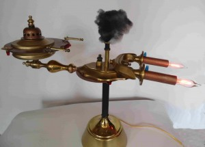 steam powered Voyager
