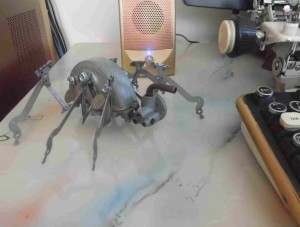 steampunk spiderbot